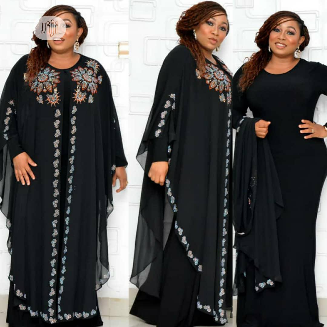 New Female Turkey Quality Long Dress With Stones   Clothing for sale in Lagos Island (Eko), Lagos State, Nigeria