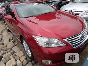 Lexus ES 2011 Red   Cars for sale in Lagos State, Apapa