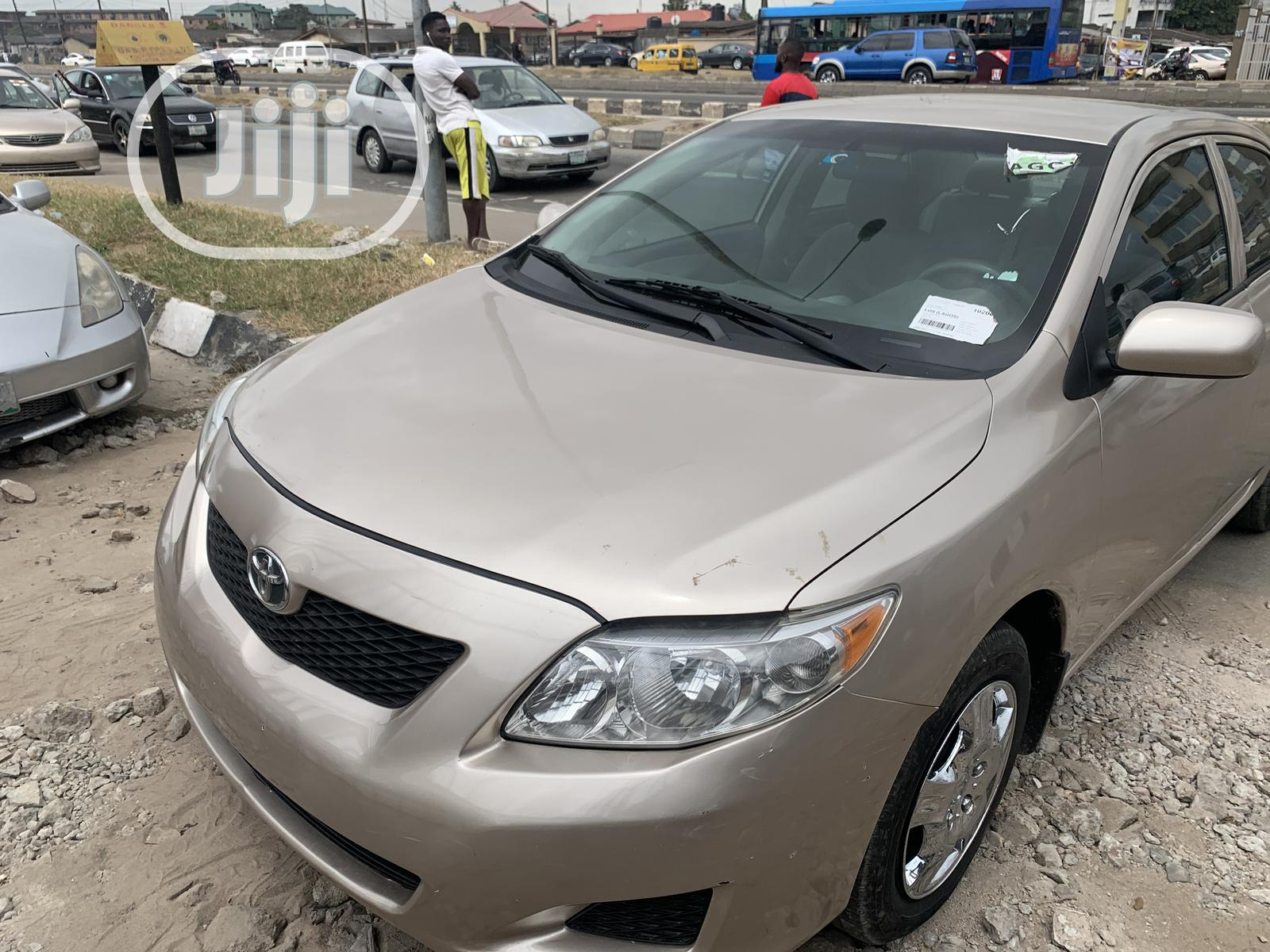 Toyota Corolla 2009 Gold In Surulere Cars Yomi Autos Jiji Ng For Sale In Surulere Buy Cars From Yomi Autos On Jiji Ng