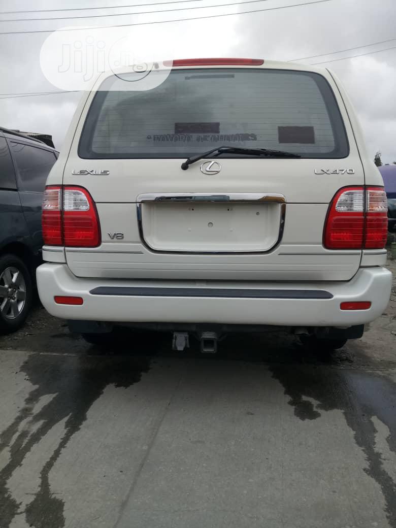 Lexus LX 2004 470 Sport Utility White