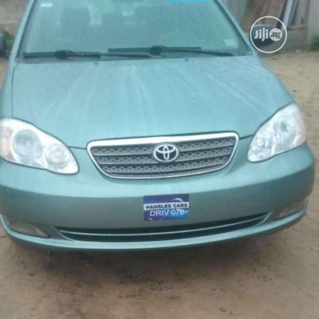 Toyota Corolla 2005 Green In Port Harcourt Cars Dabo Autos Jiji Ng For Sale In Port Harcourt Buy Cars From Dabo Autos On Jiji Ng