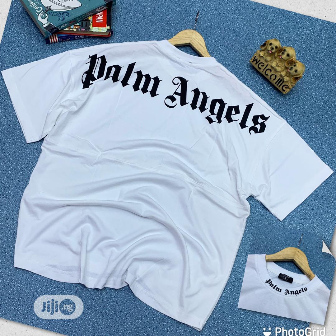 Palm Angels Round Neck T-Shirt