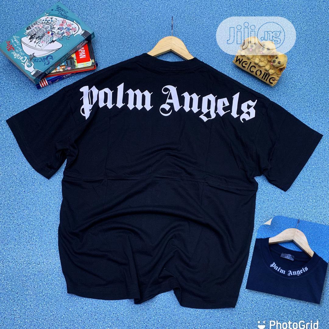 Palm Angels Round Neck T-Shirt | Clothing for sale in Lagos Island (Eko), Lagos State, Nigeria