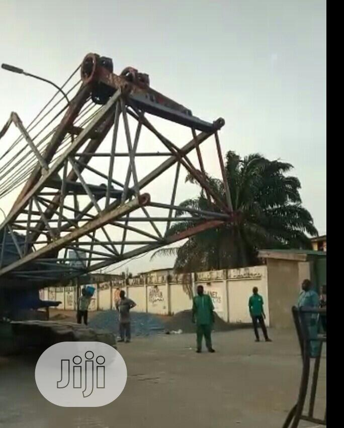 Archive: Rb 600sc 60tons Crawler Crane.