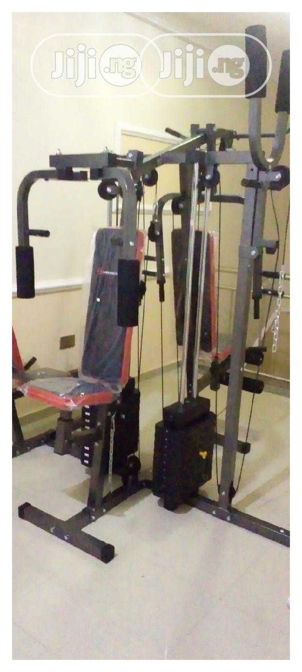 Archive: Brand New 4 Station Gym