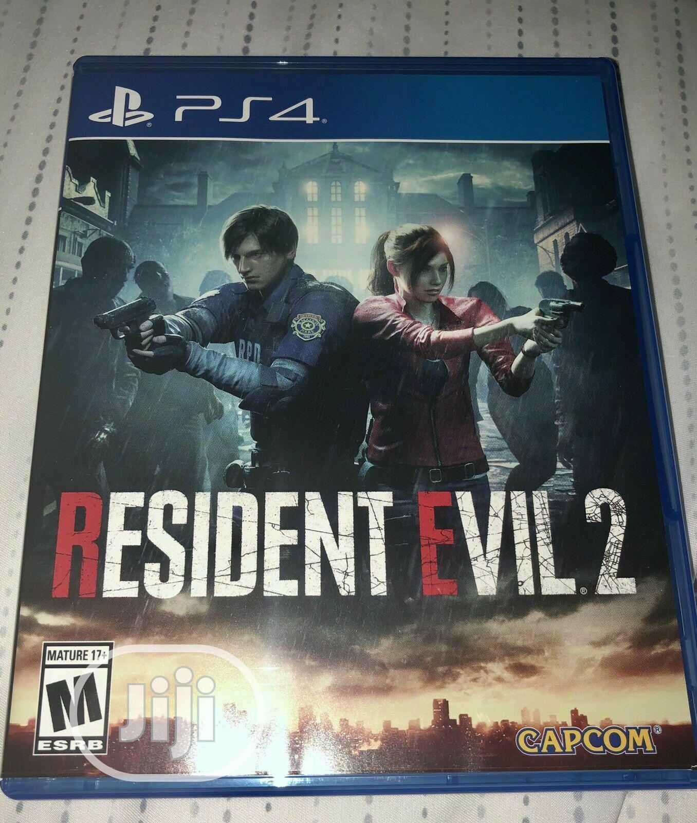 Archive: Ps4 Resident Evil 2