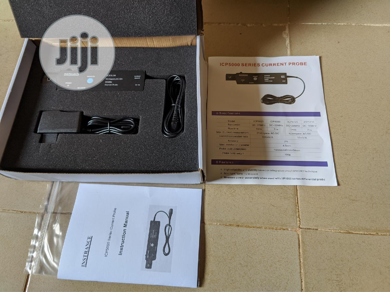 Archive: Oscilloscope Probe Accessories ICP5150 Current Probe 50M 40A