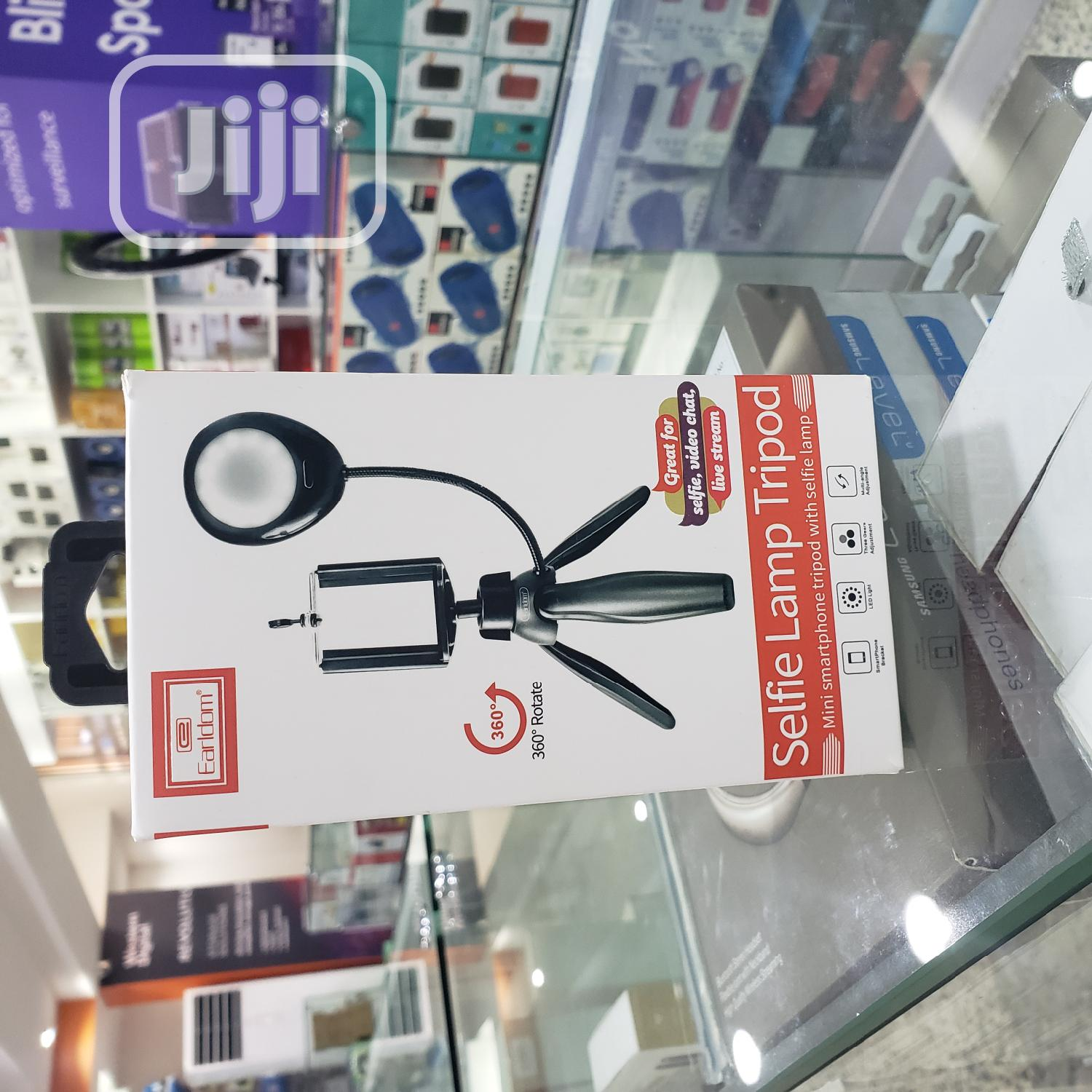 Earldom 360 Rotate Mini Tripod/Selfie Lamp   Accessories & Supplies for Electronics for sale in Ikeja, Lagos State, Nigeria
