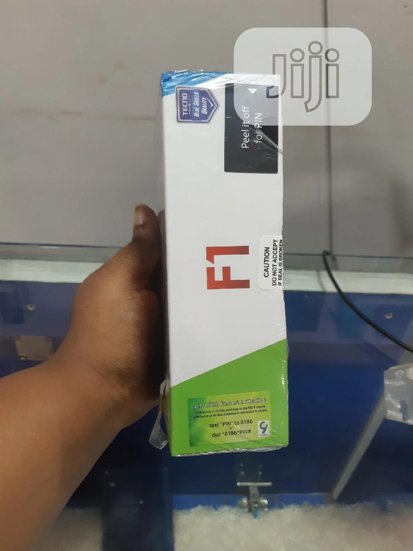 New Tecno F1 8 GB Blue | Mobile Phones for sale in Benin City, Edo State, Nigeria