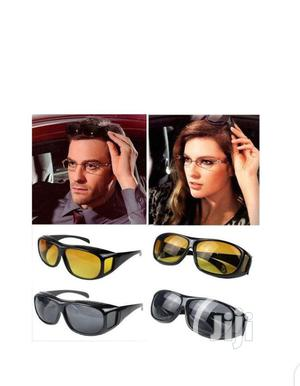 2 in 1 HD Night Vision Driving Glasses | Clothing Accessories for sale in Lagos State, Yaba