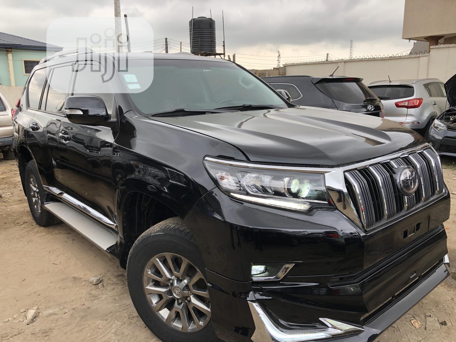Toyota Land Cruiser Prado 2012 Black | Cars for sale in Ikeja, Lagos State, Nigeria