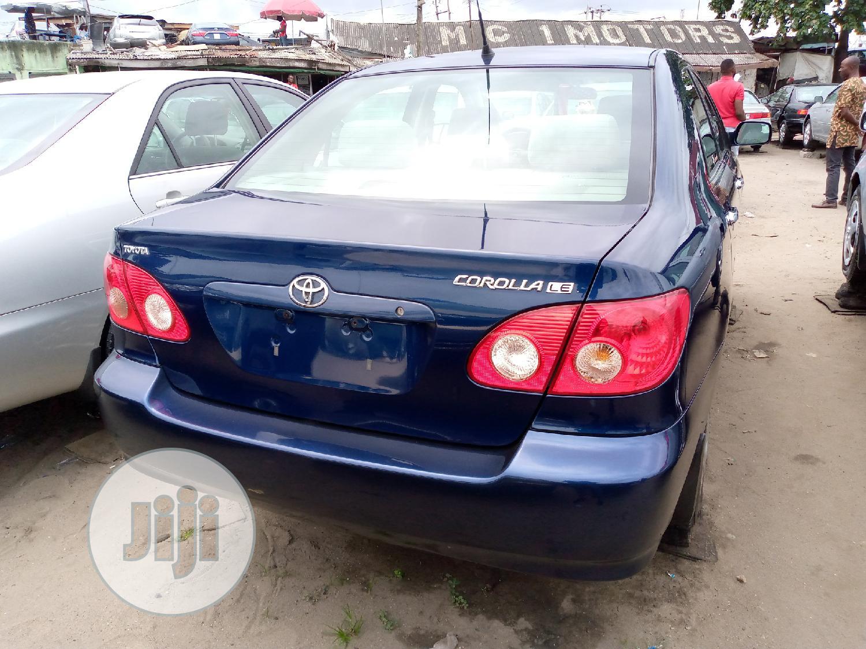 Toyota Corolla 2005 LE Blue   Cars for sale in Apapa, Lagos State, Nigeria