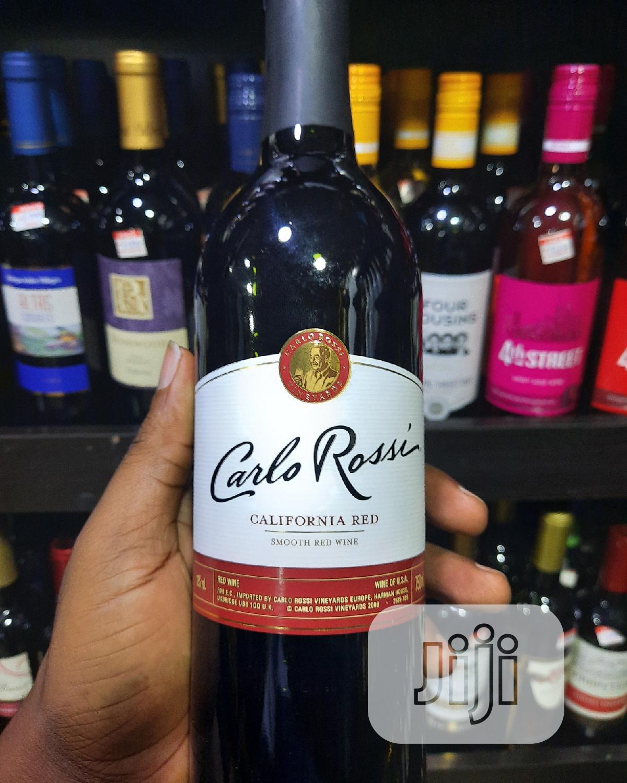 Carlo Rossi Carlifornia Red Wine
