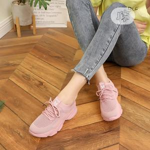 Women Sneakers Casual Shoe Pink   Shoes for sale in Abuja (FCT) State, Jabi