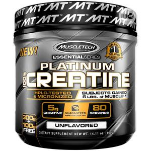 Muscle Tech Platinum Creatine Monohydrate Powder, 14.1oz 80 | Vitamins & Supplements for sale in Lagos State, Amuwo-Odofin