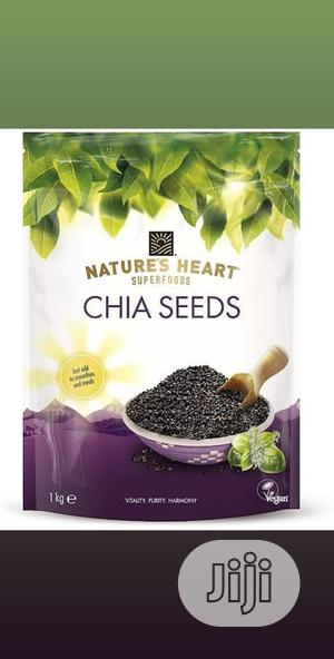 Natures Heart Chia Seed 1kg | Vitamins & Supplements for sale in Lagos State, Ikeja