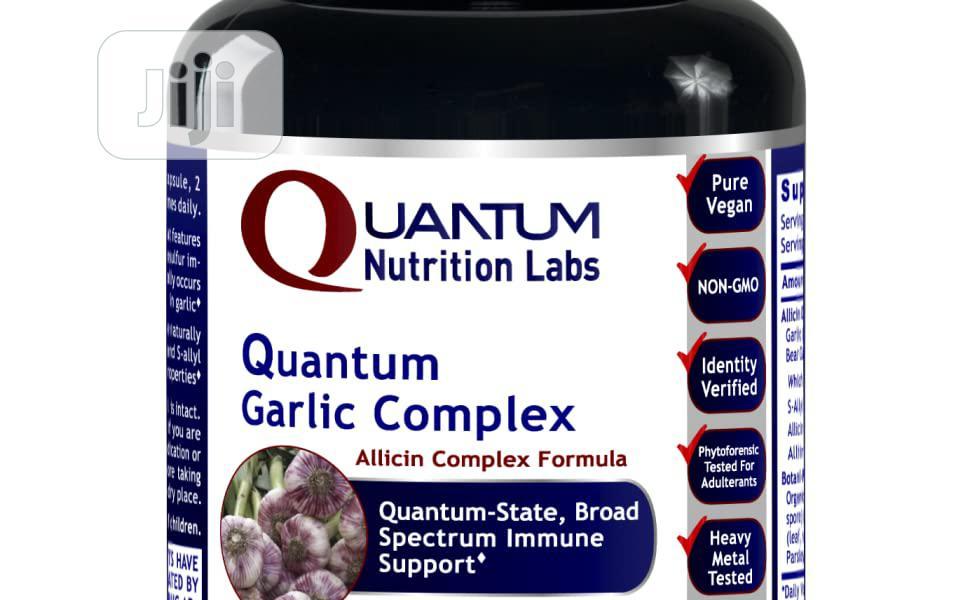 Quantum Nutrition Labs Garlic Complex 60 Capsules Allicin Co