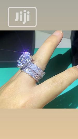 Bold Sterling Silver Wedding Set   Jewelry for sale in Lagos State, Ikeja
