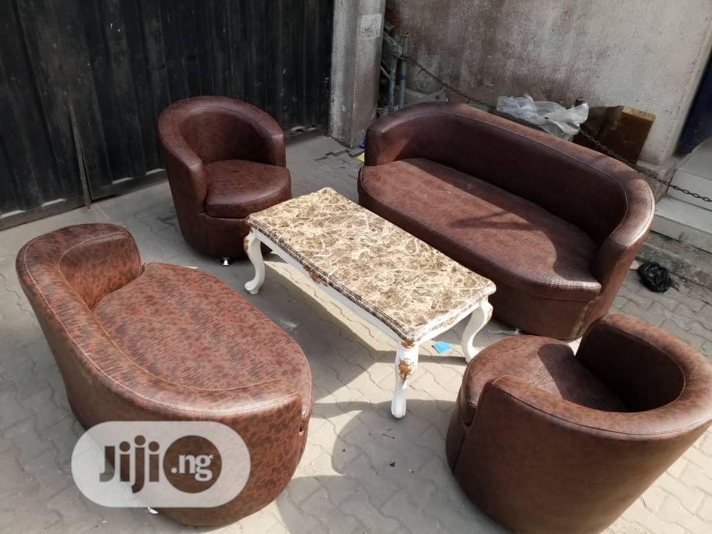 4pcs Sofa Leather Chair