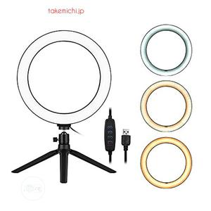 10'' Inch Selfie Ring Lighr With Portable Handheld Tripod   Accessories & Supplies for Electronics for sale in Lagos State, Ikeja