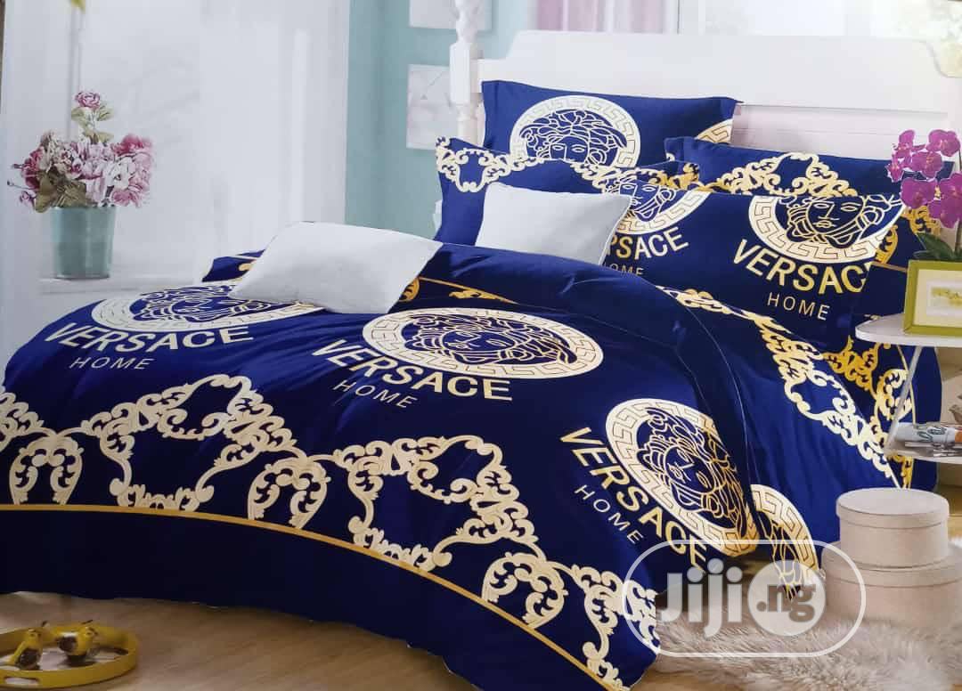 Archive: Versace Bedsheets Wirh Duvet Snd Pillow Cases.