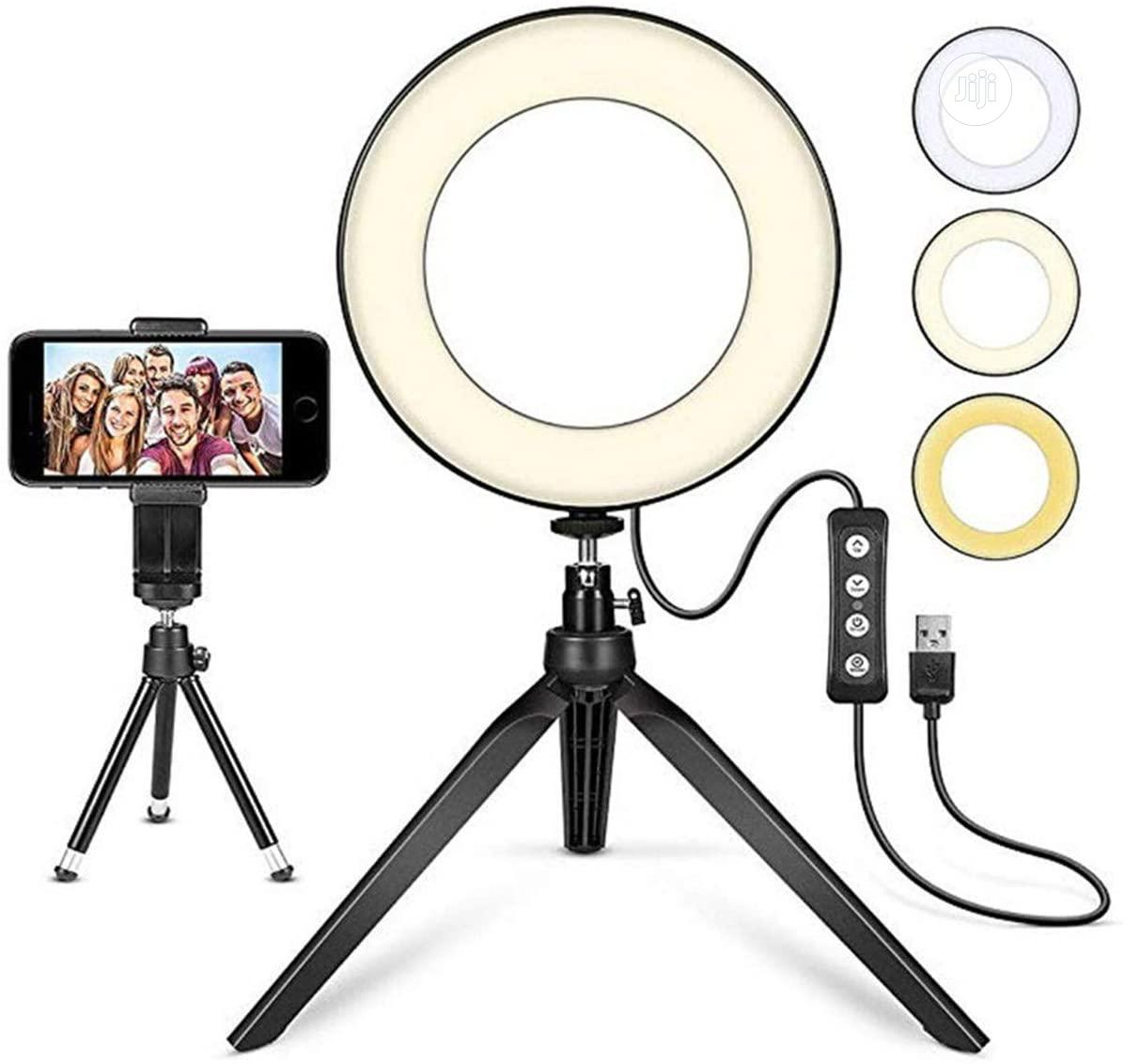 Photography 10 Inch LED Ring Light Lamp Tripod Stand