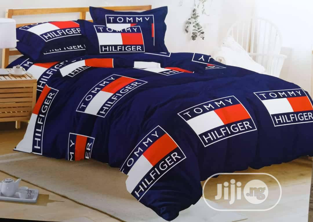 Archive: Tommy Hilfiger Bedsheet And Pillow Case With Duvet.