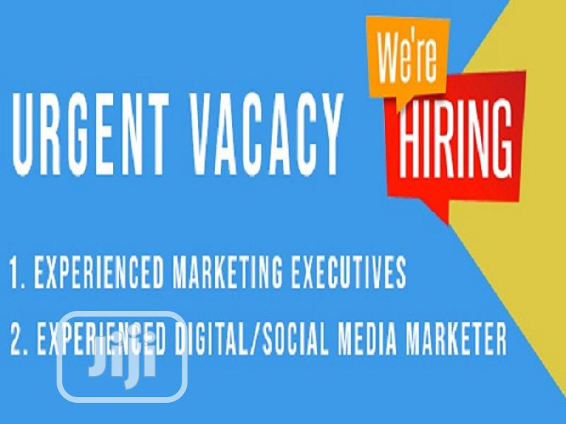 Marketing Executive (FEMALE) And Digital Marketer Needed
