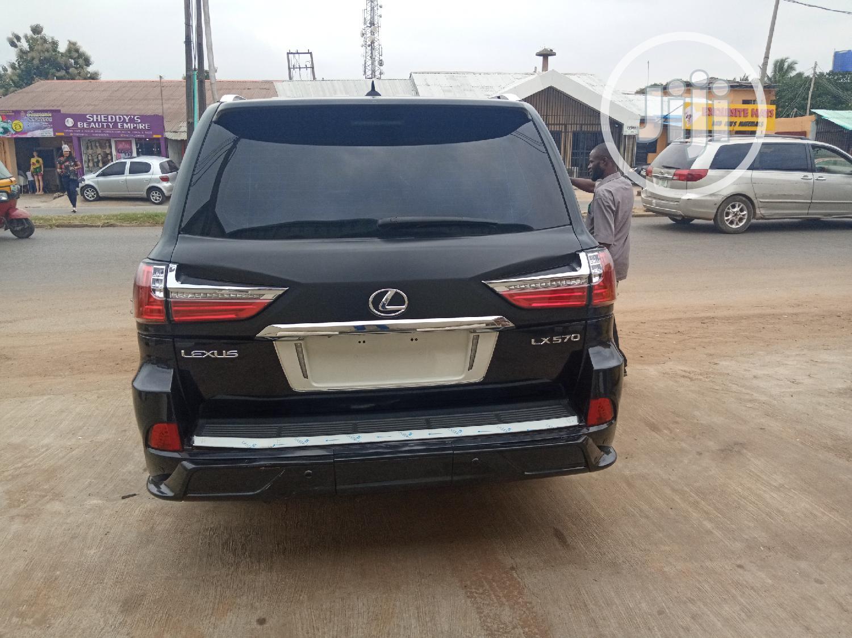 Lexus LX 2008 570 Black | Cars for sale in Ibadan, Oyo State, Nigeria