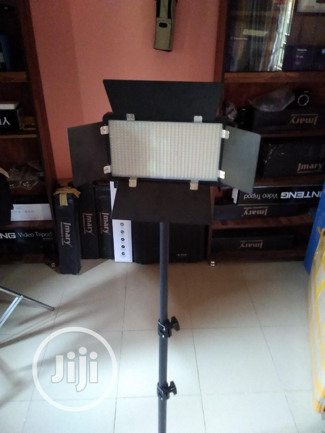 Archive: Professional LED Video Light With Stand