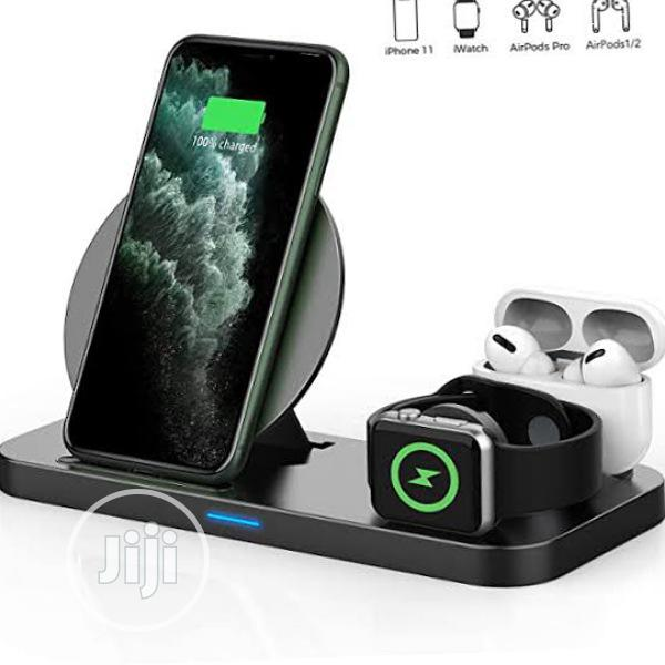 3 in 1 Wireless Charger | Accessories for Mobile Phones & Tablets for sale in Ikeja, Lagos State, Nigeria