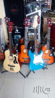Box Guitar And Electric Guitar | Musical Instruments & Gear for sale in Lagos State, Mushin