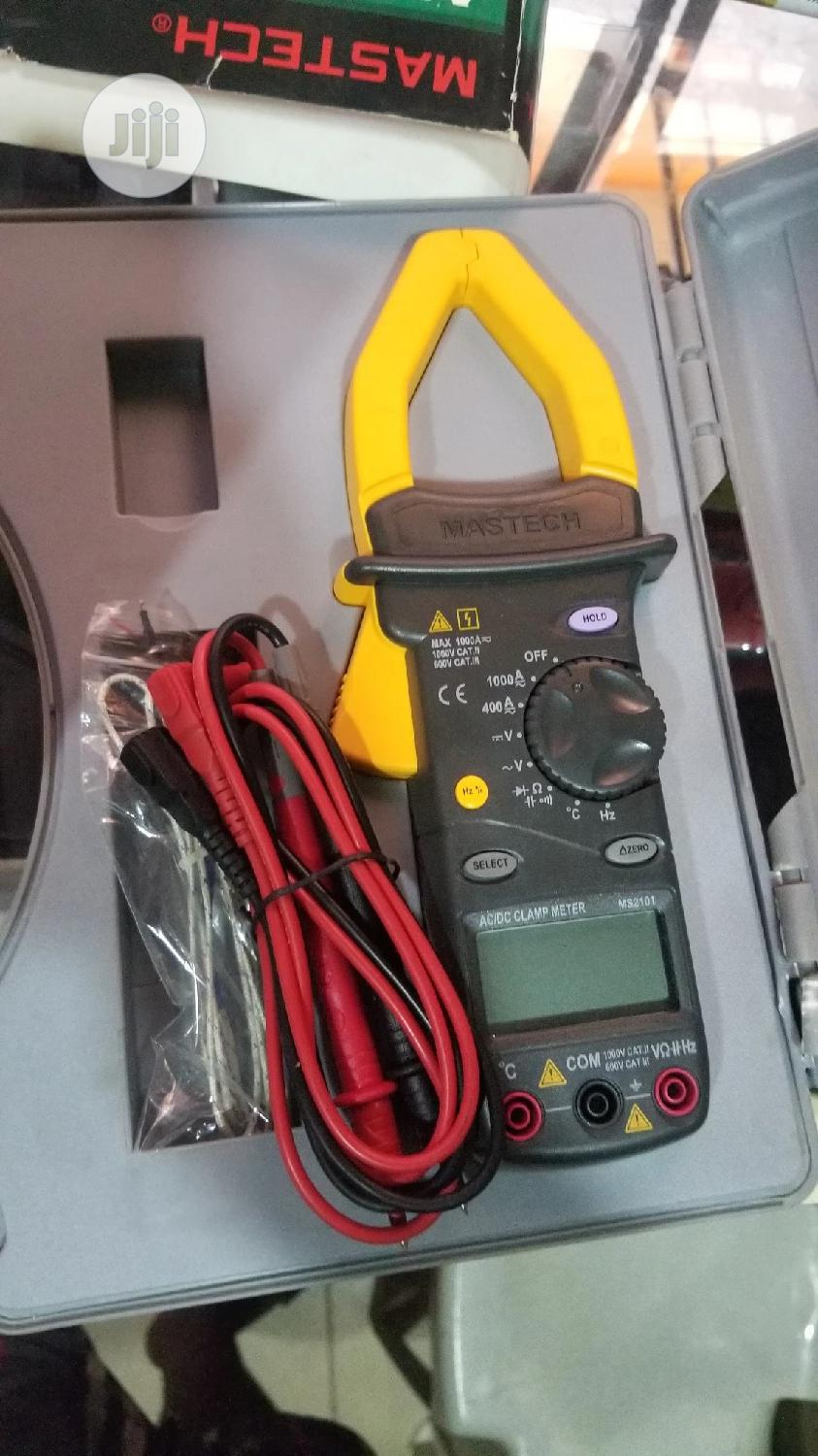 Obi-ng Mastech Ac/Dc Digital Clamp Meter | Measuring & Layout Tools for sale in Ojo, Lagos State, Nigeria