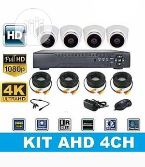4CH CCTV Combo Kit Cemera With Internet Remote View   Security & Surveillance for sale in Lagos State, Ojo
