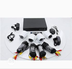 HD (AHD) CCTV Kit With Remote View 4 Channels   Security & Surveillance for sale in Lagos State, Ojo