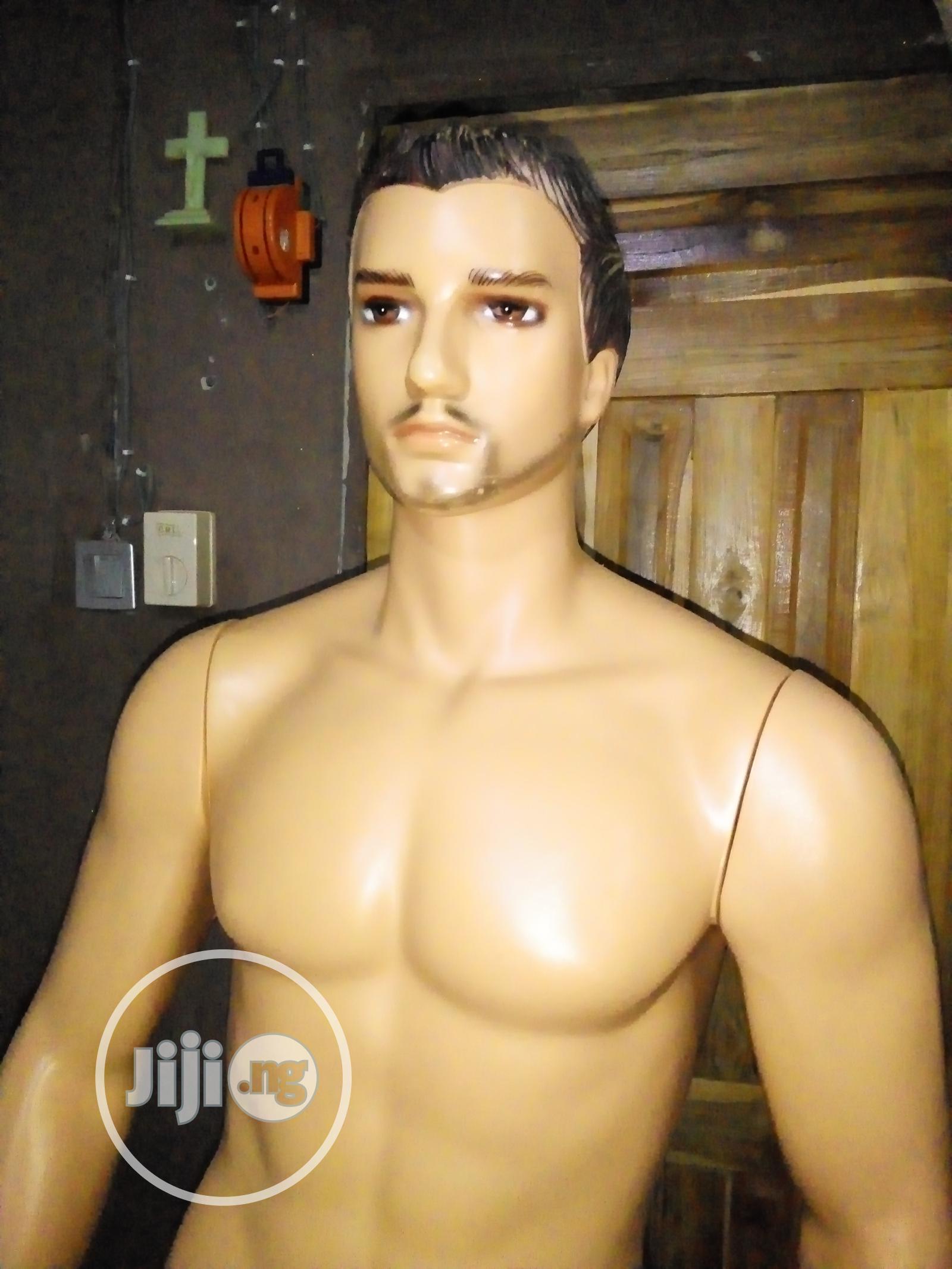 Archive: Plastic Male Mannequin
