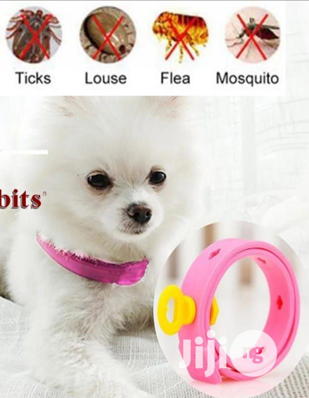 Waterproof Adjustable Anti-tick Fleas, Mite Collar 4 Dog/Cat | Pet's Accessories for sale in Abeokuta North, Ogun State, Nigeria