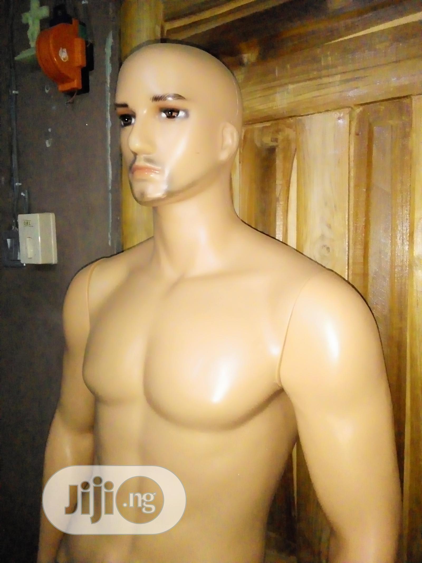 Archive: Male Plastic Mannequin