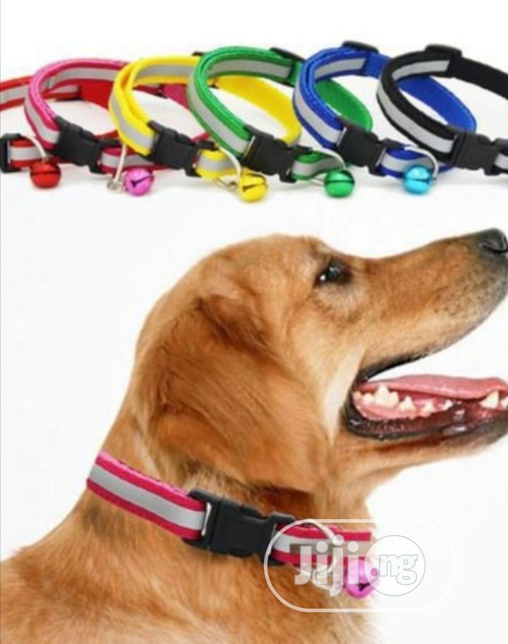 Reflective Collar For Puppy /Cat | Pet's Accessories for sale in Abeokuta North, Ogun State, Nigeria