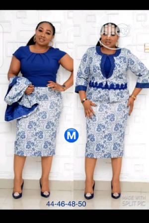 New Female Turkey Quality Royal Blue Gown Suit | Clothing for sale in Lagos State, Lagos Island (Eko)