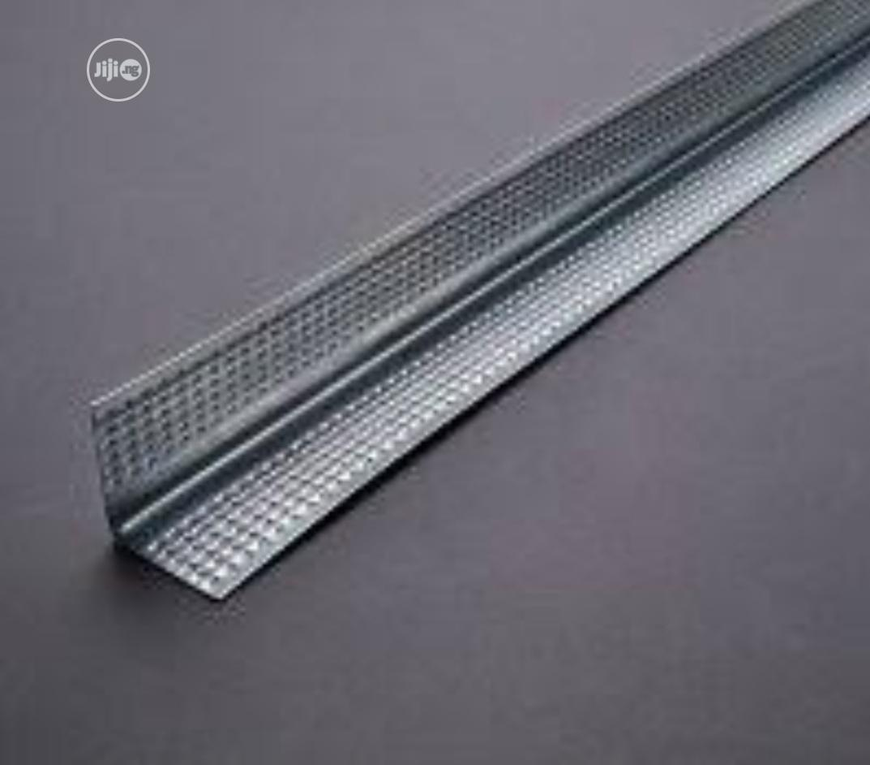 Corner Bead - Wall Angle - Edge Trim -POP Board Accessories   Building Materials for sale in Yaba, Lagos State, Nigeria