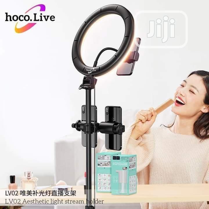 3 In 1 Selfie Ring Light Tripod Stand Phone/Tablet Holder