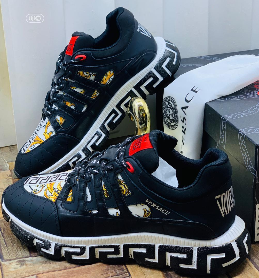 Archive: Adidas and Versace Canvas in