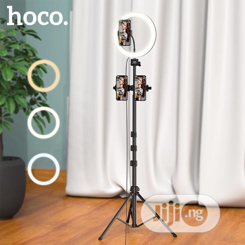 3 In 1 Selfie Ring Light Tripod Stand Phone/Tablet Holder   Accessories & Supplies for Electronics for sale in Ikeja, Lagos State, Nigeria