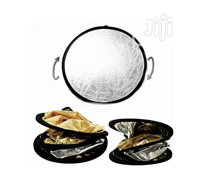 5in1 Collapsible Photo Reflector 80cm | Accessories & Supplies for Electronics for sale in Port-Harcourt, Rivers State, Nigeria