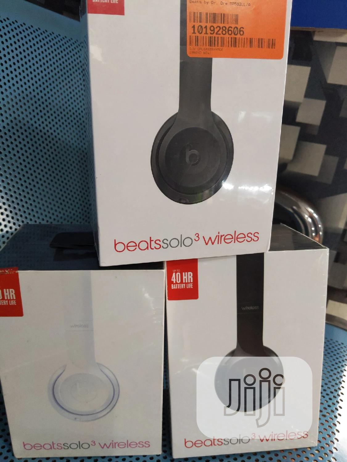 Beats Solo 3 | Headphones for sale in Ikeja, Lagos State, Nigeria