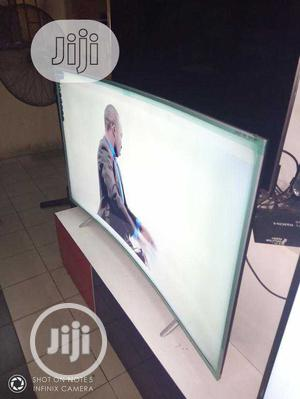 New Polystar 65-Inch Curved UHD 4K (NETFLIX) Free Bracket   TV & DVD Equipment for sale in Lagos State, Ajah