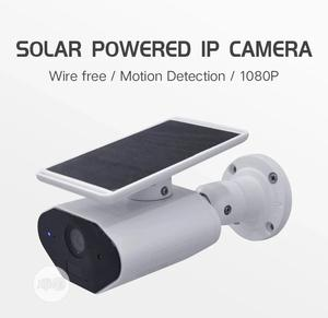 Solar Powered IP Camera For Smartphone Remote View | Security & Surveillance for sale in Lagos State, Ikeja
