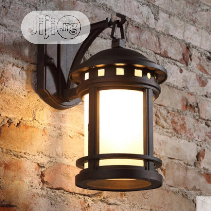 European-style Retro Outdoor Wall Lamp Waterproof Americans