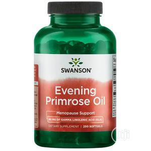 Evening Primrose Oil 500mg 250 Soft Gel | Vitamins & Supplements for sale in Lagos State, Alimosho